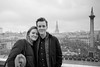 Good Friday, London, 2018 (romanboed) Tags: leica m 240 summilux 50 europe uk enited kingdon great britain gb england london easter portrait couple monochrome bw black white trafalgar st james rooftop hotel