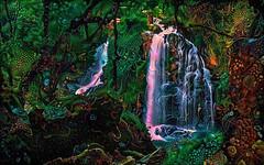 The Fall (cirooduber) Tags: shockofthenew ostagram visualart awardtree digitalarttaiwan trollieexcellence forest fantasy
