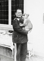 Goering Holding Lion Cub (steiner-ger) Tags: animals berlin centraleurope europe feline germany government governmentofficial hermanngoering indifference leader lion mammal partnership people politicalleader prominentpersons support war worldwarii