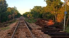 VID_20180415_193837772_HDR.mp4 (LnCS) Tags: railroad construction rebuild capitol metro capmetro texas new braunfels weekend trip giddings line rehab rehabilitation