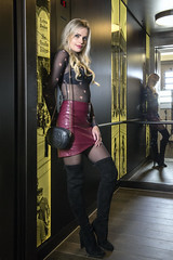 Elisa (juergenberlin) Tags: girl sexy legs woman beauty blond long hair boots high heels
