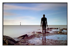 Beacon: Another Time (Marti Thinkso) Tags: antonygormley statues beacon beach margate leefilters leesuperstopper lee06hardgrad sonya77 sal1650 anothertime