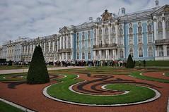 jardín y fachada del palacio de santa catalina-SAN PETERSBURGO-Rusia (jordi doria 140) Tags: rusia1 rusia russia sanpetersburgo palaciodesantacatalina
