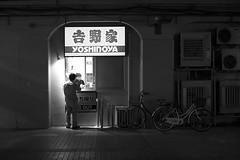 YOSHINOYA (ajpscs) Tags: ajpscs japan nippon 日本 japanese 東京 tokyo city people ニコン nikon d750 tokyostreetphotography streetphotography street seasonchange spring haru はる 春 2018 shitamachi night nightshot tokyonight nightphotography citylights tokyoinsomnia nightview monochromatic grayscale monokuro blackwhite blkwht bw blancoynegro urbannight blackandwhite monochrome alley othersideoftokyo strangers walksoflife omise 店 urban attheendoftheday urbanalley bar ordering selection takeout yoshinoya 吉野家 お持ち帰り