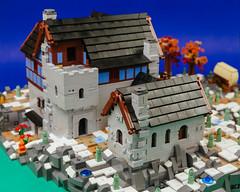 Heroica Snowed Inn 08 (cjedwards47) Tags: lego moc heroica game advancedheroica castle inn zombie zombies snow winter microscale