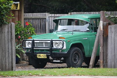 1970 Toyota Stout RK101 (jeremyg3030) Tags: 1970 toyota stout rk101 cars japanese ute utility pickup cabchassis green