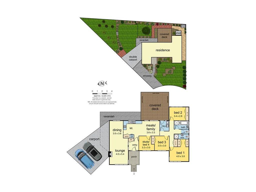 6 Eastbourne Court floorplan