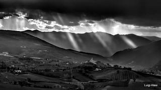 San Severino Marche - lame di luce