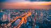 Ho Chi Minh City, Vietnam (Iftakhar Hasan) Tags: asia vietnam hochiminhcity thànhphốhồchíminh sàigòn saigon saigonriver saigonskydeck sunset city cityscape lighttrail lightstreak longexposure sony sonyα6300 sonyepz18105mmf4goss