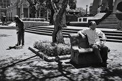 Bench life (fcribari) Tags: 2018 costarica fujifilm x100s bench blackandwhite blancoynegro fotografiaderua monochrome pretoebranco street streetphotography