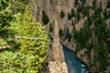 2017 USA Mountain States - Yellowstone NP, WY / Dunraven Pass, Overhanging Cliff, The Narrows (dconvertini) Tags: yellowstonenationalpark wyoming usa dunraven pass overhanging cliff the narrows