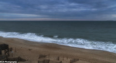 Sunday Morning (mjdrhd) Tags: morning clouds sand beach seascape outerbanks shoreline