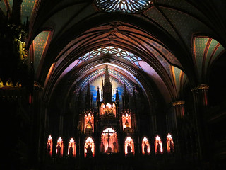 Notre Dame Cathedral, Montreal, Quebec