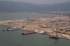 Building the Hong Kong Boundary Crossing Facilities for the Hong Kong–Zhuhai–Macau Bridge (Marcus Wong from Geelong) Tags: kohsamui hongkong hongkong2016 hongkonginternationalairport