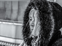When will Spring finally come? (JuliSonne) Tags: season schnee winter portrait warm kalt woman