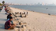 Mumbai (CdL Creative) Tags: 70d bombay canon cdlcreative eos girgaum india maharashtra mumbai beach chowpatty geo:lat=189515 geo:lon=728174 geotagged sunset in