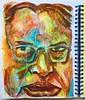 Christian Montone - Sketchbook (Christian Montone) Tags: montone christianmontone drawing sketch sketchbook ink painting watercolor mixedmedia portrait face faces men