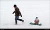 Mush! Mush! DSC07852 (Trevor Durritt) Tags: sonycybershotdschx9v ©trevordurritt snow fun sledge cold winter england digitalcompactcamera play family