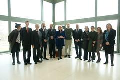 Karin Kneissl besucht das Museum Zeitgenössischer Kunst in Belgrad