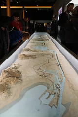 Le plan-relief du canal de Suez (Institut du Monde Arabe, Paris)