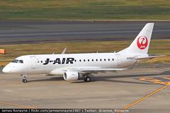 JA224J   Embraer 170   J-Air (james.ronayne) Tags: ja224j embraer 170 jair e170 jl jal aeroplane airplane plane aircraft jet jetliner airliner aviation flight flying tokyo haneda hnd rjaa canon 80d 100400mm raw
