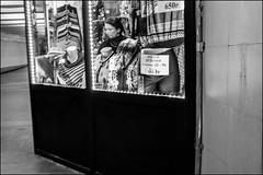 4_DSC5444 (dmitryzhkov) Tags: russia moscow documentary street life human monochrome reportage social public urban city photojournalism streetphotography people bw night lowlight nightphotography passenger transport dmitryryzhkov blackandwhite everyday candid stranger worker job work employee face streetportrait portrait motion blur motionblur vendor trade underground window