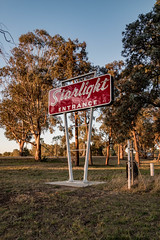 The Starlight Drive-In, Australian Capital Territory. (Buddy Patrick) Tags: sign signage relic remain ruin reminder cinema theatre drivein movie movies pictures history historic heritage canberra australiancapitalterritory australia