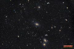 M87-widefield-LRGB (Maurizio Cabibbo) Tags: skynight space science stars astronomy astrophotography telescope deepsky galaxy night long exposure universe virgo widefield