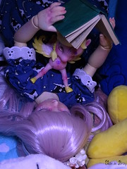 Ombéline & Daïa (Ushi de Bray) Tags: doll bjd little pony aimerai volks