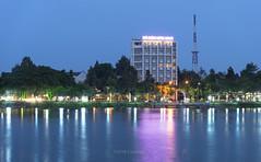 Nhà khách Hương Sen Đồng Tháp (@CuongDo) Tags: dongthap longexposure light lake long sony sonya7mark2 ilcea7m2 blue nikon af 70210mm f456 d nikonaf70210mmf456d
