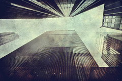 Skyscrapers (vittorio.chiampan) Tags: skyscrapers newyork usa sky fineart art urban