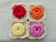 For rosette granny squares after joining (crochetbug13) Tags: crochetbug crochetsquares grannysquares crochet crocheted crocheting