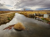 Flow (dwblakey) Tags: ladwp landscape desert cloudy bishop weeds california canal owensvalley irrigation outside easternsierra sky inyocounty water outdoors storm unitedstates us
