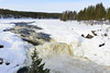 Jockfall rapids in northern Sweden (H L Photography Sweden) Tags: jockfall rapids sweden swedish northern winter snow nature