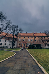 Wawel castle in Krakow (Vagelis Pikoulas) Tags: krakow poland travel holidays holiday landscape city cityscape urban architecture fortress view canon 6d tokina 1628mm sky clouds cloudy november autumn 2017
