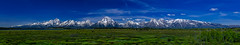 Grand Teton Panoramic Range (tuhindas1989) Tags: landscape nature mountain beautiful grandteton grandtetonmountain grandtetonnp grandtetonnationalpark wyoming travel travelphotography