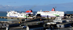 18 04 07 Stena Horizon and Stena Europe at  Rosslare (5) (pghcork) Tags: stenaline stenaeurope stenahorizon rosslare ferry ferries wexford ireland carferry 2018