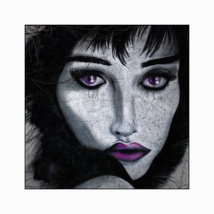 La Pleureuse (Jean-Louis DUMAS) Tags: street art rue artist artistic artistique artiste peinture murale peintre de la illustration dessin animé streetart artdelarue femme woman portrait portraiture best
