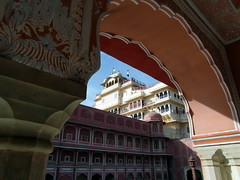 jaipur grand palace (kexi) Tags: jaipur rajasthan india asia rajput grandpalace architecture old ancient samsung wb690 february 2017 instantfave pinkcity