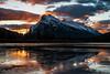 Rundle Mountain in Banff - Large (Canmore Photography) Tags: banff banffnationalpark best7of2017 blurb1 crowfootmedia crowfootmediapick flickr25 landscape largeformat portfolio portfoliocp ravedraft smugmug smugmugpostdec2017 sunrise testprint vermilionlakes