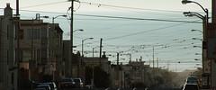 Judah To The Ocean (AAcerbo) Tags: judah thesunset sanfrancisco california street wires telephonepoles urban city oceanbeach cinematic 241 horizon