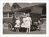 Fashion 0444-43 (Steve Given) Tags: socialhistory familyhistory fashion group kids motorvehicle car