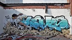 Love & Time / ... - 17 apr 2018 (Ferdinand 'Ferre' Feys) Tags: gent ghent gand belgium belgique belgië streetart artdelarue graffitiart graffiti graff urbanart urbanarte arteurbano ferdinandfeys time