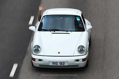 Porsche, 964, Carrera RS Touring, Wan Chai, Hong Kong (Daryl Chapman Photography) Tags: rs92 porsche 964 911 carrerars touring rare cool amazing speed pan sound panning hongkong china sar canon 5d mkiii 70200l