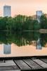 Zwei Türme (juergen_gryska) Tags: natur abend architektur spiegelung