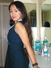 Blue Dress (Chris-Creations) Tags: mei woman asian chinese dress smile girl beautiful lovely bathroom