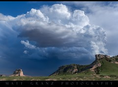Convection over the Bluffs (Matt Granz Photography) Tags: nebraska scottsbluff desert mountains clouds storm nature landscape trees nikond750 nikon2470mm28 mattgranzphotography chaser chasing cloudsstormssunsetssunrises