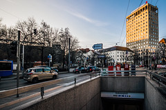 Memory mismatch (Melissa Maples) Tags: münchen munich deutschland germany europe nikon d3300 ニコン 尼康 sigma hsm 1020mm f456 1020mmf456 winter rotkreuzplatz metro station traffic road street