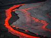 Lava Front (Fotografie mit Seele) Tags: ertaale danakildepression afar triangle volcano vulkan äthiopien ethiopia lava eruption red smoke liquid crust kruste pahoehoe