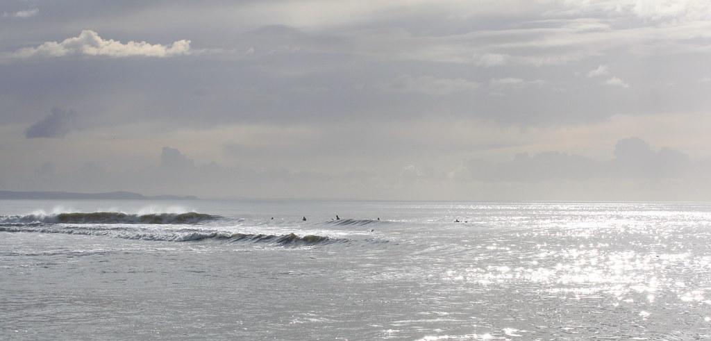 surfing, South Beach, Aberystwyth 2